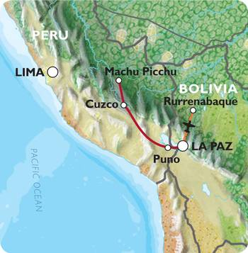 CUSCO to LA PAZ (19 days) Peru & Bolivia Explorer (Inc. Amazon Jungle)