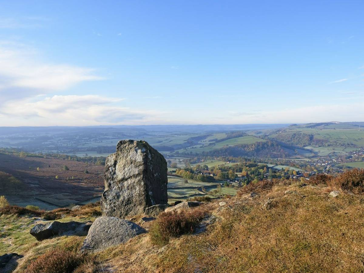 View from Curbar Edge