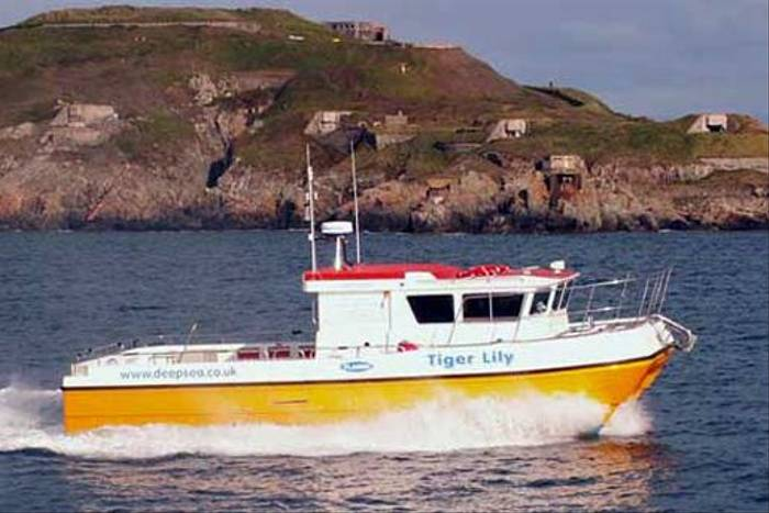 The Tiger Lilly, one of two boats which can be used