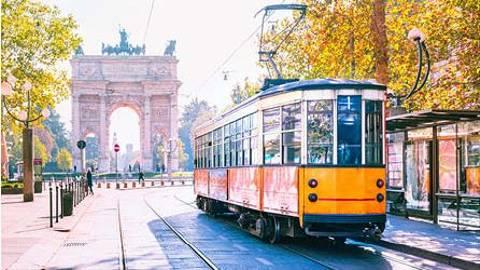 Day 13   Italy   Milan   Tram