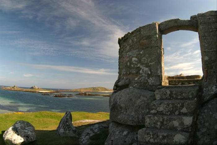 Ruins on the Isles of Scilly