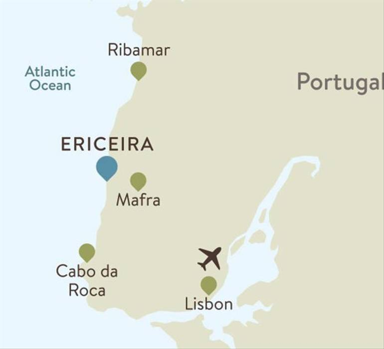 Ericeira Itinerary Map