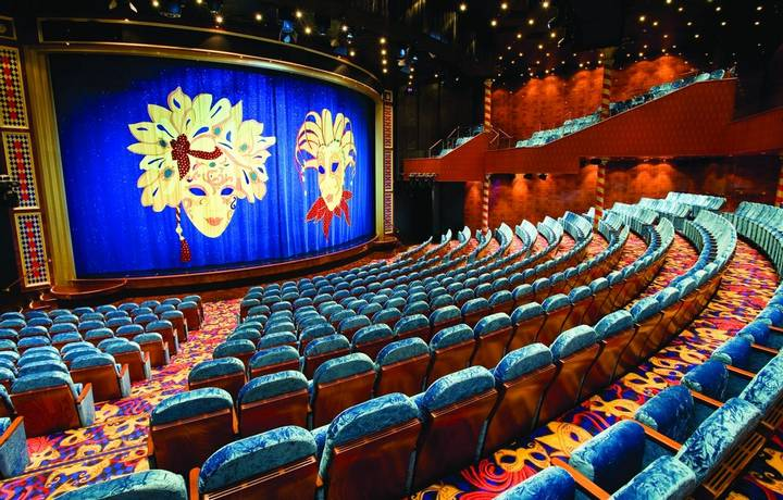 Stardust Theater - Deck 6 Pride of Hawaii - Norwegian Cruise Line