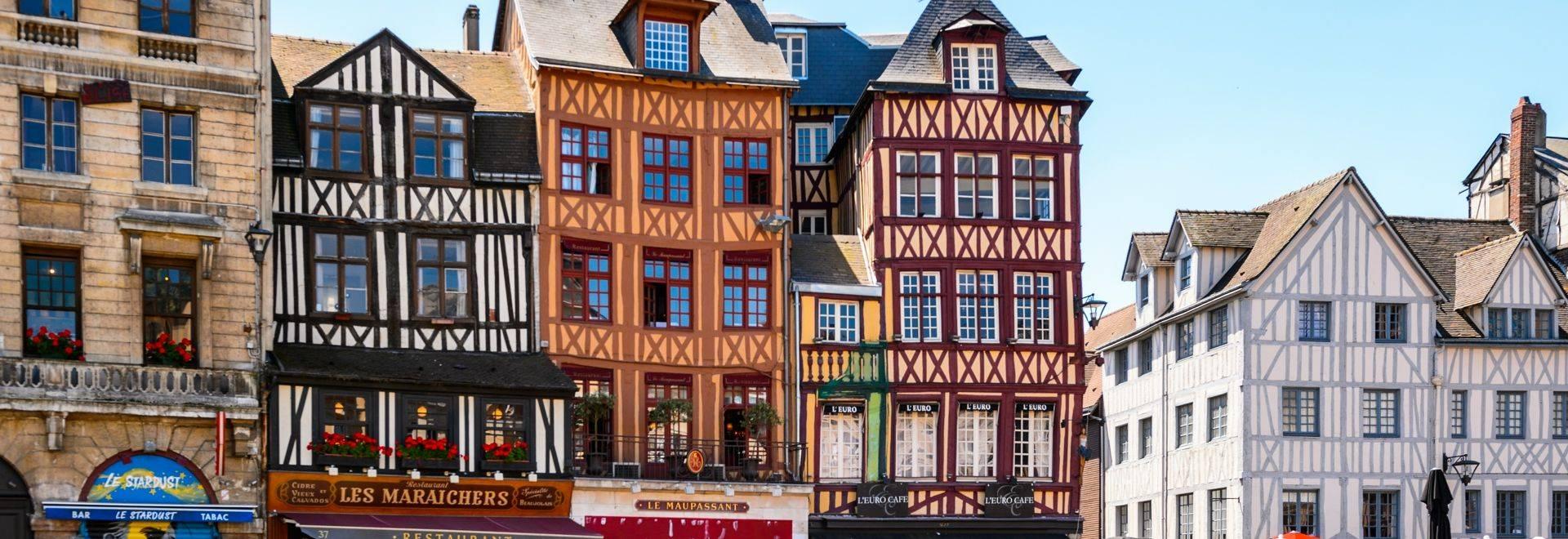 Shutterstock 294202151 Architecture Of Joan'S D'Arc Square In Rouen 1