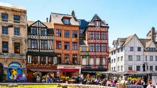 Shutterstock 294202151 Architecture Of Joan'S D'Arc Square In Rouen 1
