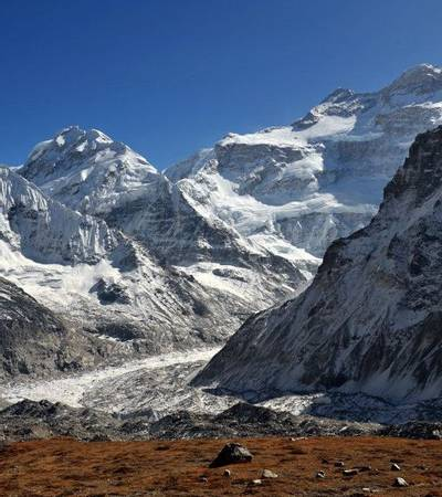 North Face of Kanchenjunga
