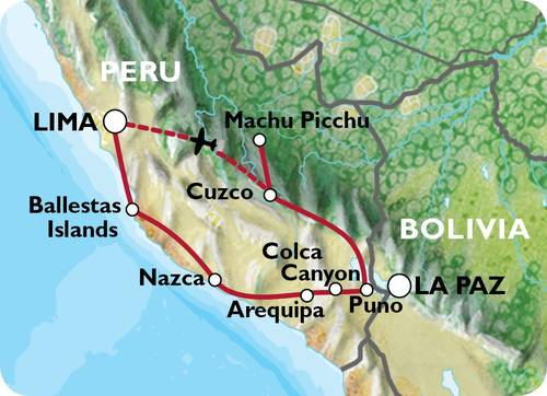 LIMA to LIMA (19 days) Peru Family Explorer
