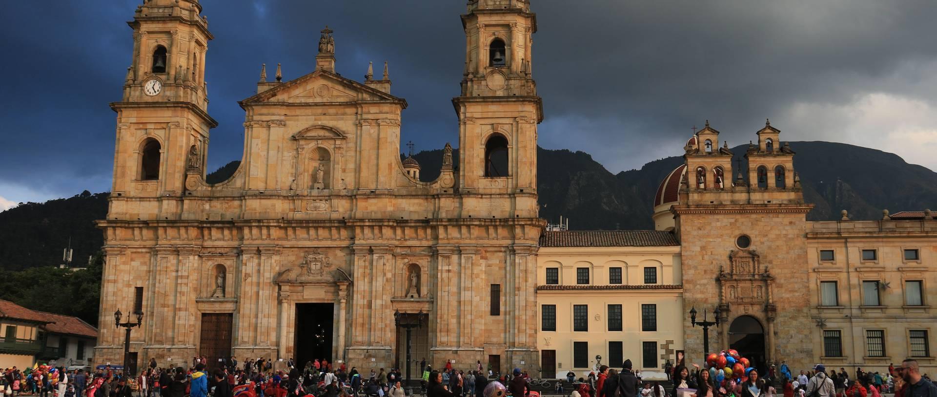 Bolivar Square, Bogota, Colombia.JPG