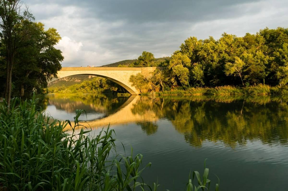 Bridge at Greoux les Bains