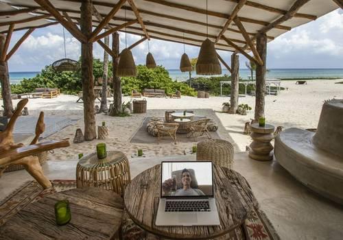 Break Free and Work-Away Beachfront in Riviera Maya