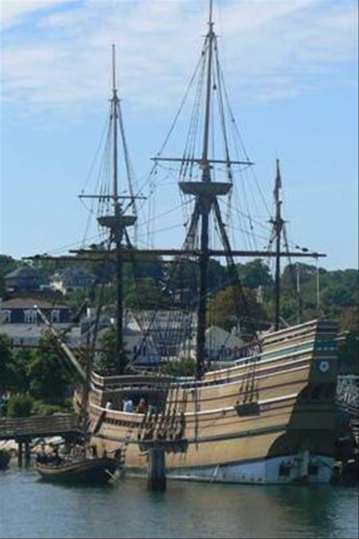 Replica of The Mayflower (Ian Nicholson)