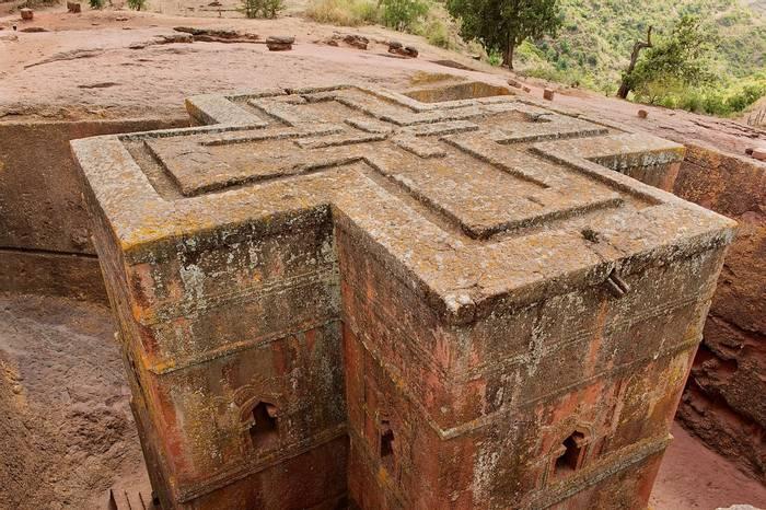 Ethiopia, Lalibela. Monolithic church of Saint George shutterstock_313575509.jpg