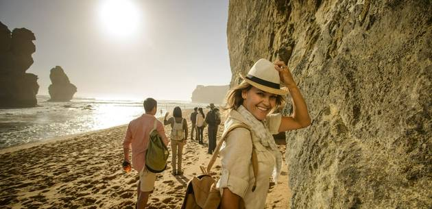 The Twelve Apostles Lodge Walk at Great Walks of Australia
