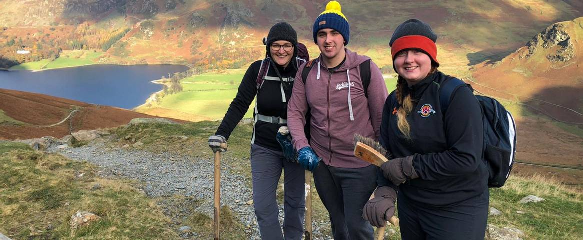 HF Holidays staff volunteer to work for a charity of their choice