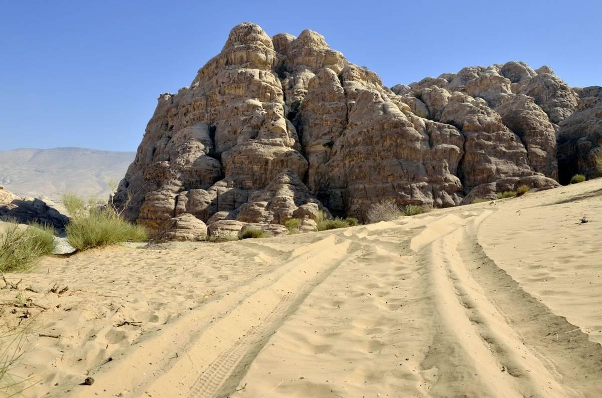 Little Petra landscape, Jordan