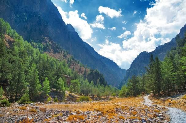 Samaria Gorge. Crete.  Shutterstock 174844028