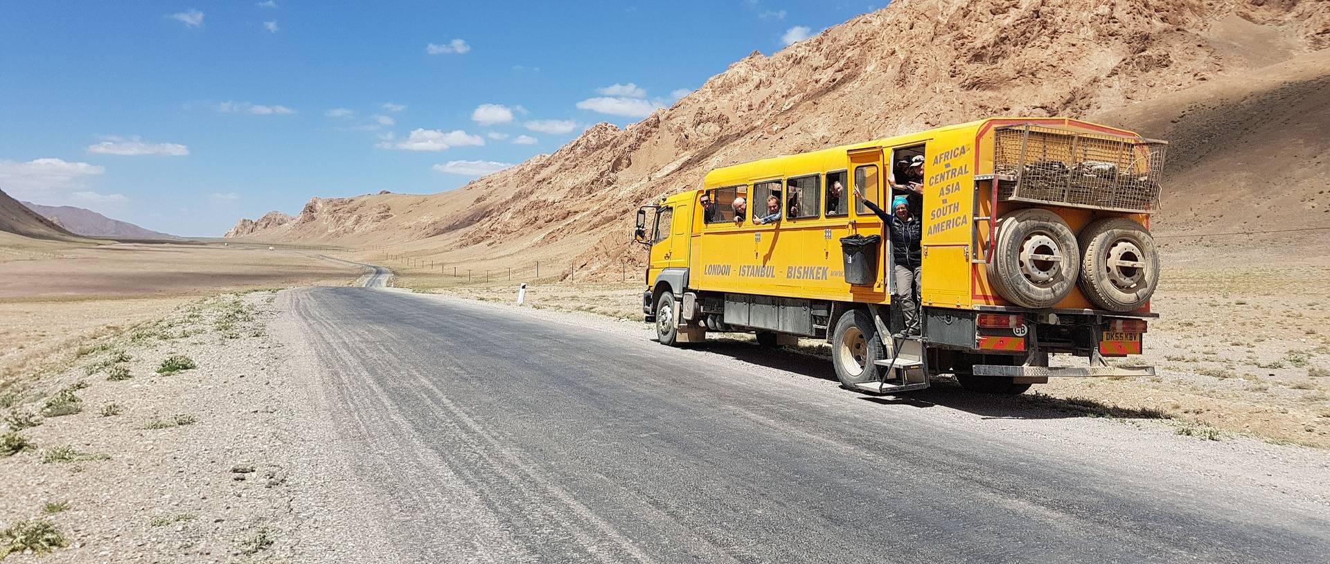 Photo Stop Tajikistan