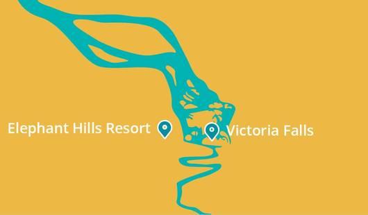 Elephant Hills Resort Map