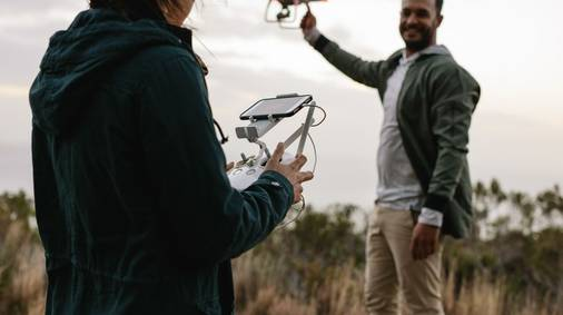 Learn to fly a drone on the Dorset Coast Holiday