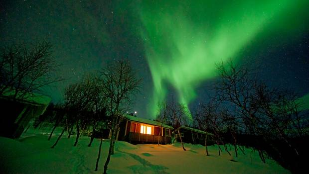 Utsjoki - Christmas Aurora Getaway