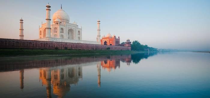 Taj Mahal Dawn. India