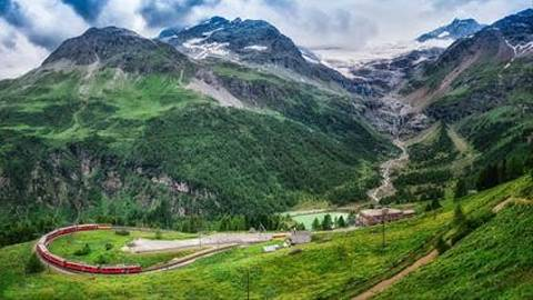 Day 7   Switzerland   Bernina Express  3