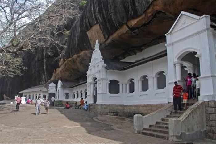 Dambulla Cave Temples (Tom Mills)