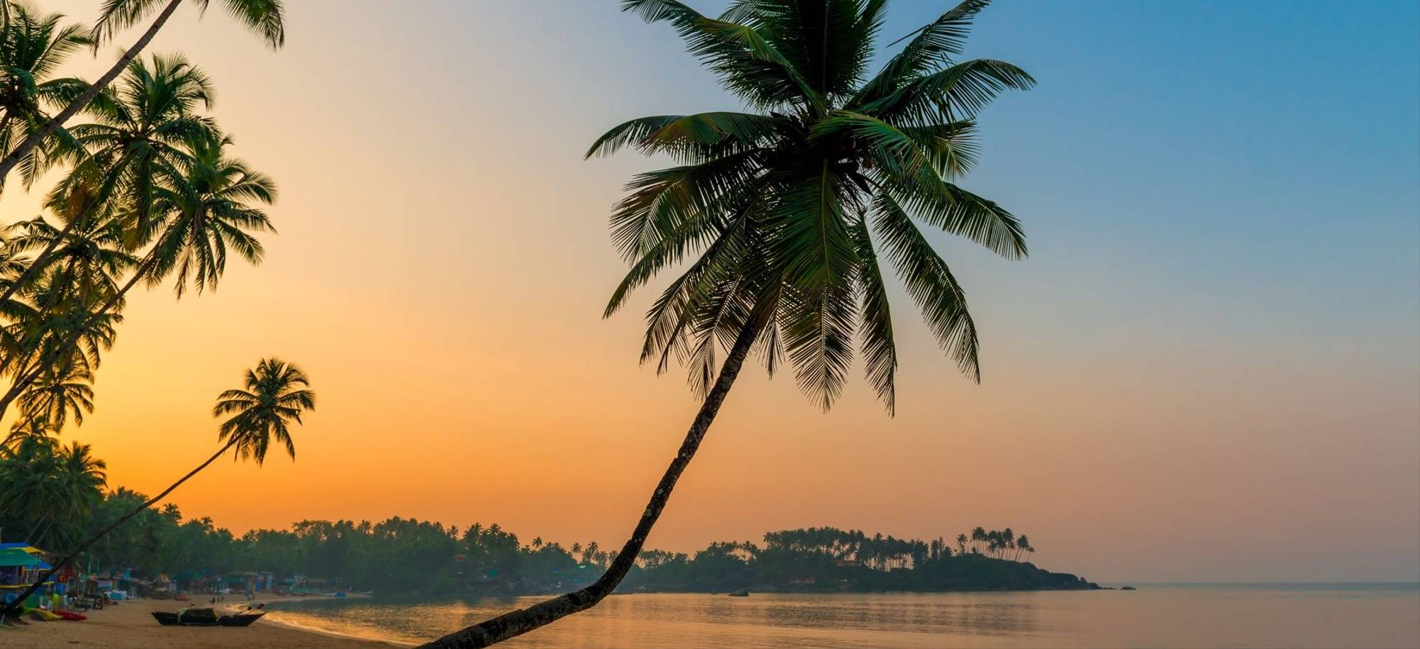 Goa at Sunset