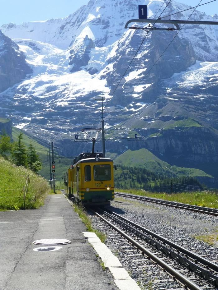 Wengernalp station (Kerrie Porteous)