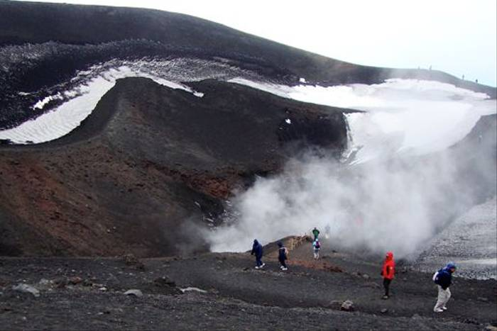 Walking on Mount Etna (Stuart Elsom)