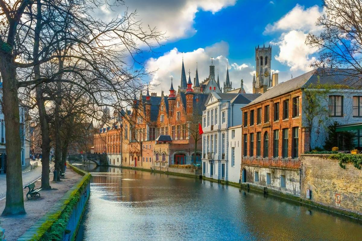 Bruges, Belgium Shutterstock 267661154
