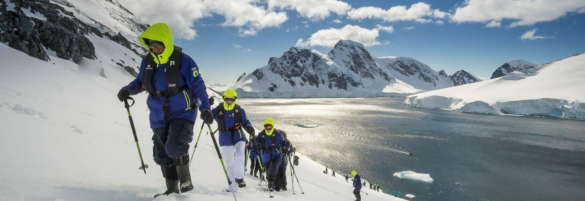 Hiking Orne Harbor In Antarctica HGR 112390