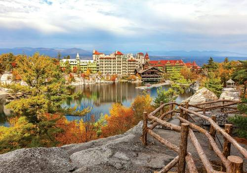 Mountain Minication at Mohonk Mountain House