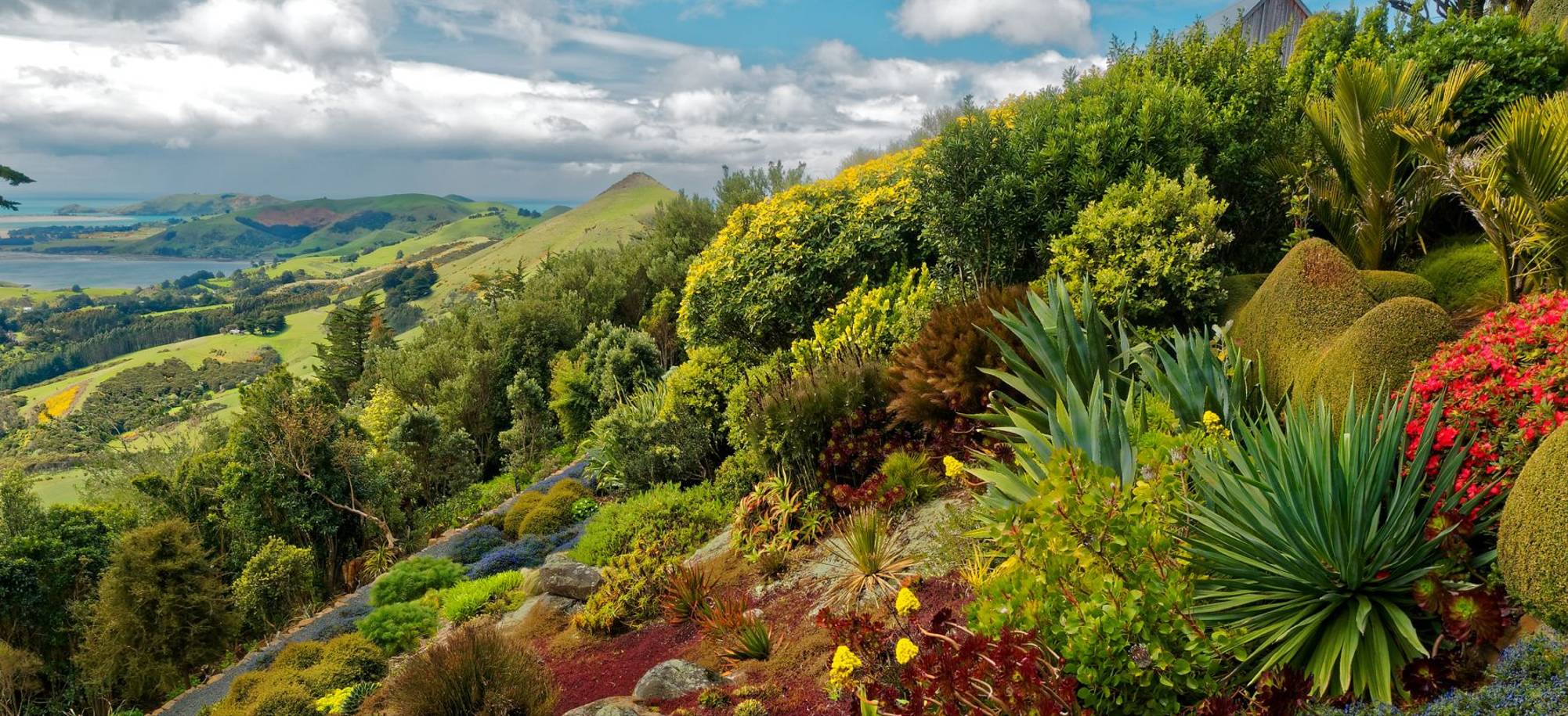 Dunedin   Larnach Castle Hill Side Gardens   Itinerary Desktop