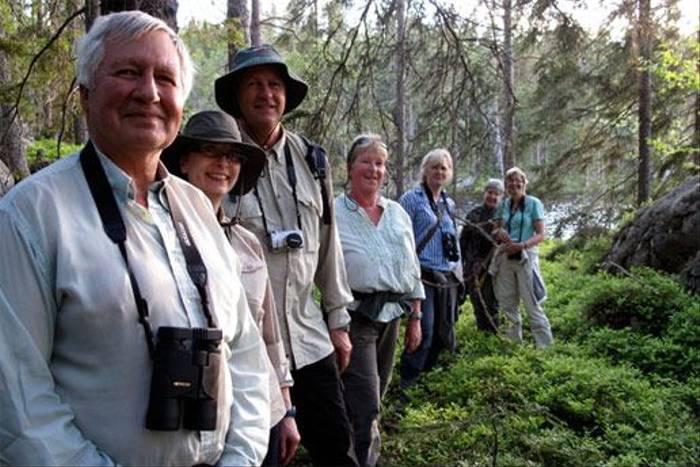 Mammal watching group (Marcus Eldh)