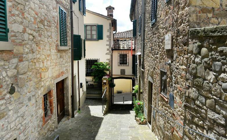 Village Radda in Chianti, Toscana, Italy