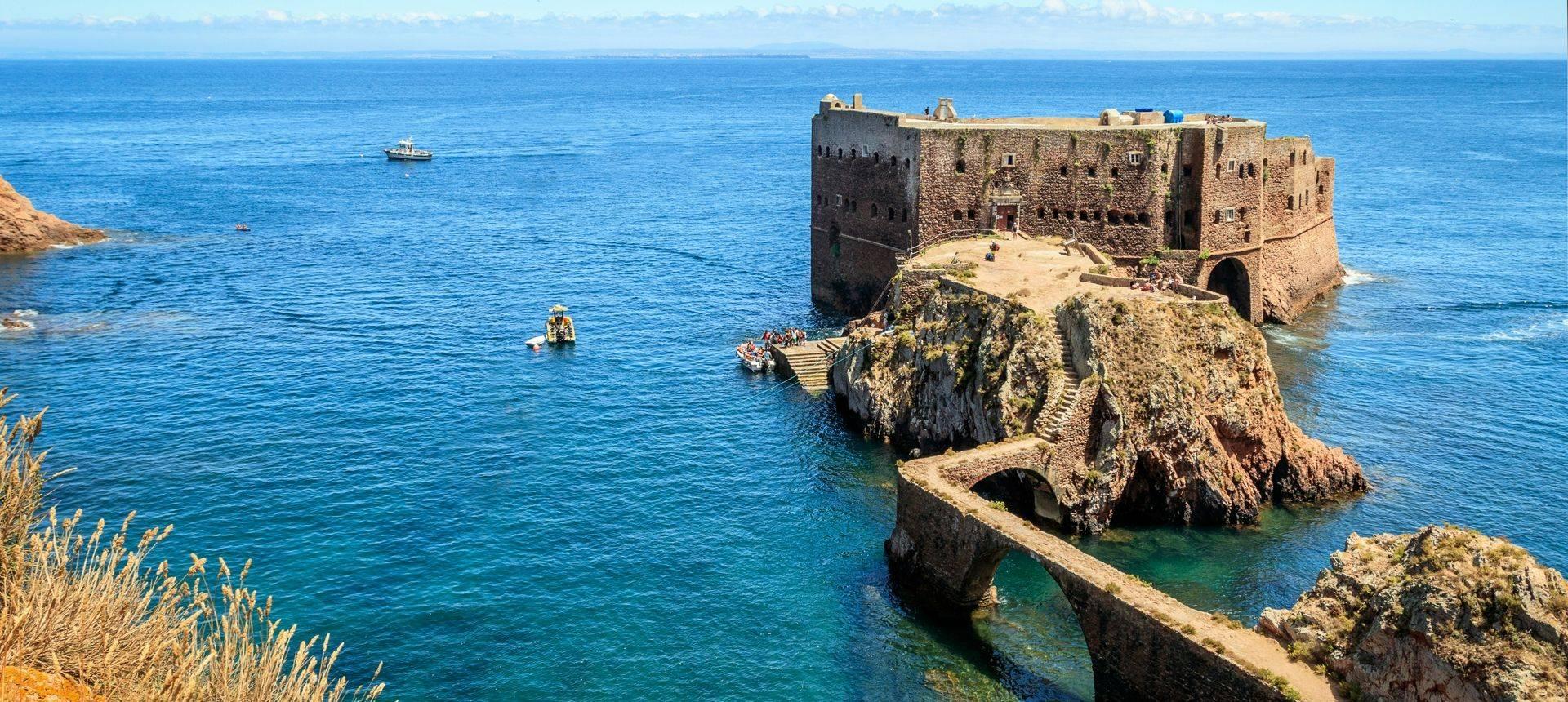 Baptista Fortress, Berlengas Islands, Portugal Shutterstock 1040853943
