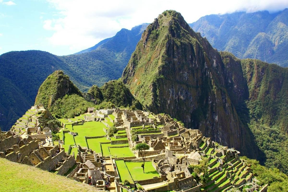 Mysterious city of Machu Picchu, Peru.