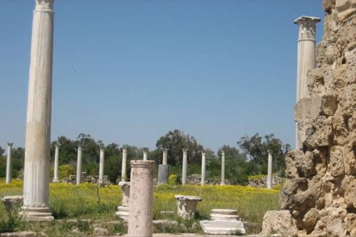 Ruins at Salamis (Andy Harding)
