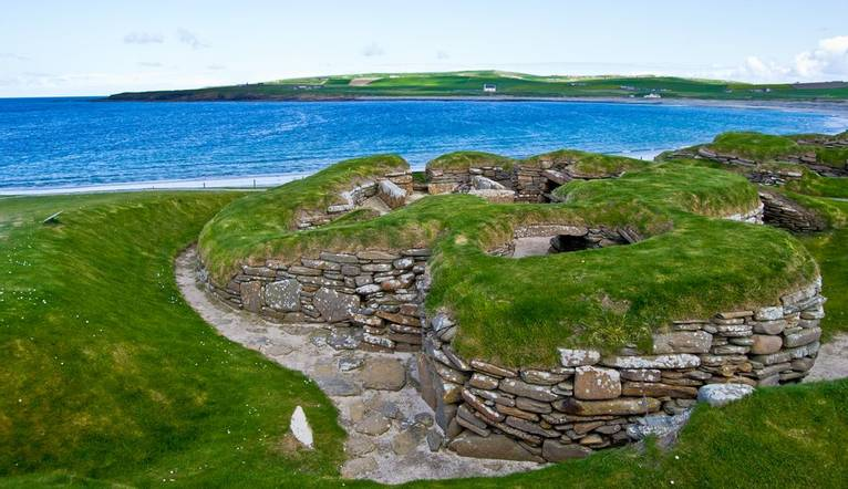 Shutterstock 105420437 Magnificent Archaeological Site Of Skara Brae