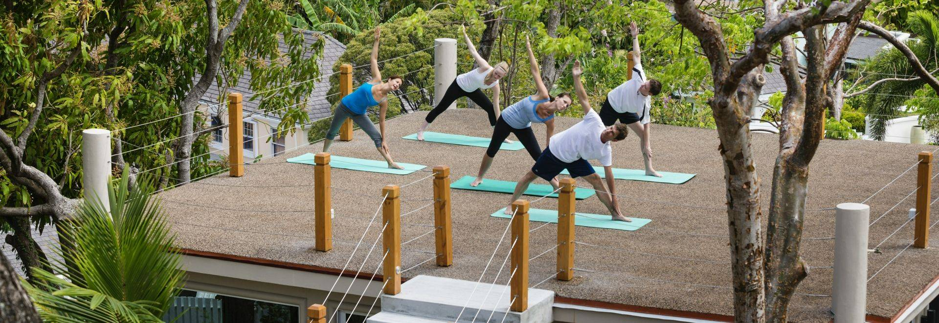 The Bodyholiday Yoga Group Class