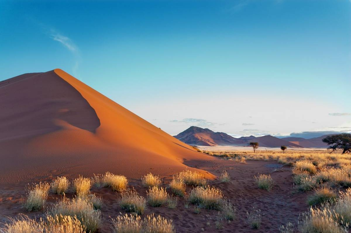 Namib Desert, Sossusvlei, Namibia. Shutterstock 107852582