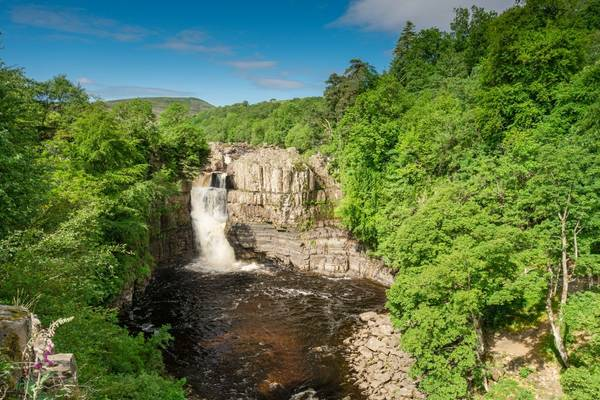 High Force Waterfall, The Penines Shutterstock 297554696