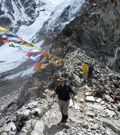 Summit of Karchung La at 5,240m
