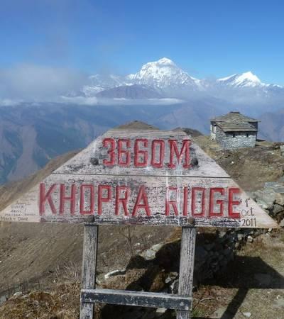 Lodge at Kopra Ridge (3,660m)