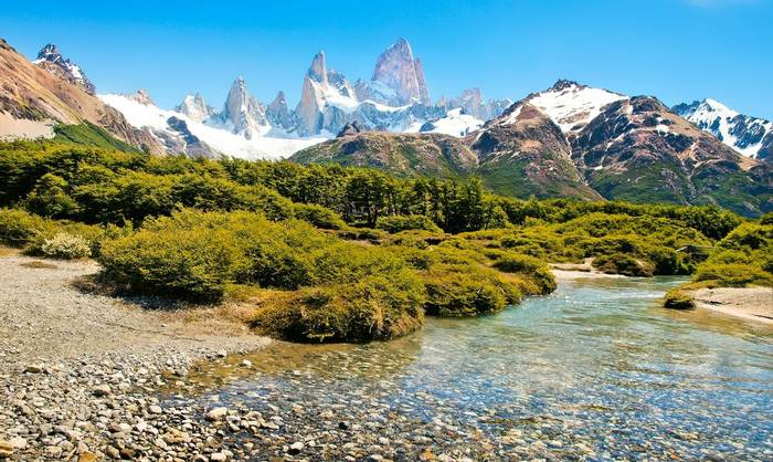 Mt Fitz Roy in Los Glaciares National Park, Patagonia, Argentina, South America. shutterstock_121352653.jpg