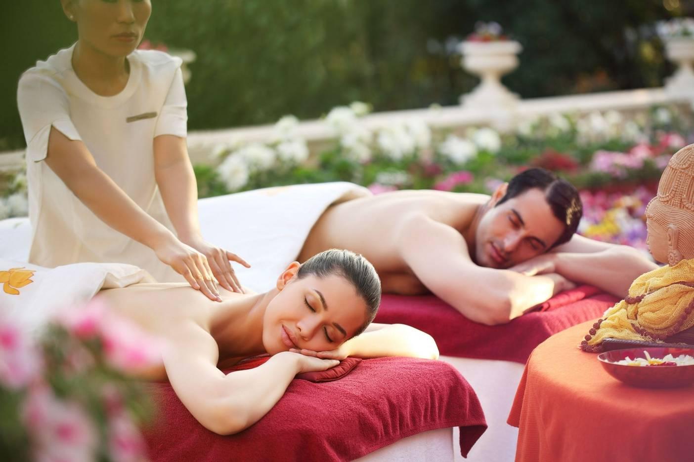 Top five romantic healthy holidays