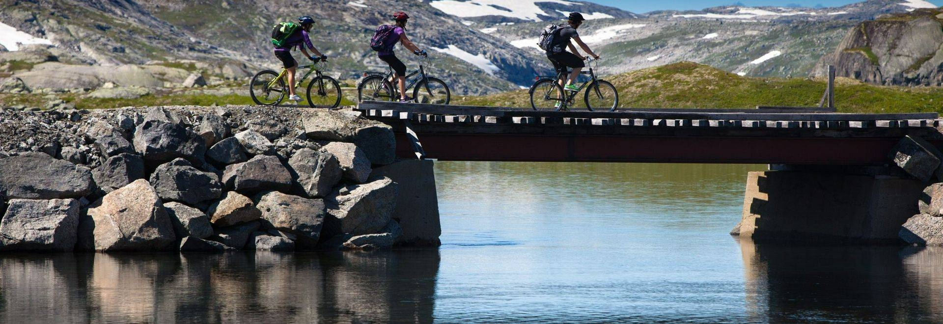 Rallarvegen, Crossing The Bridge
