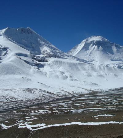 Mount Tukuche seen from Hidden valley