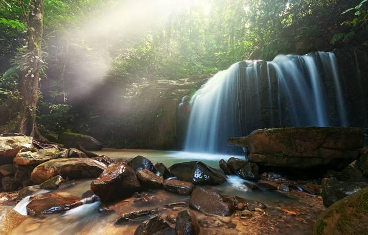 Landscape, Water, Kota Kinabalu, Malaysia, Rainforest